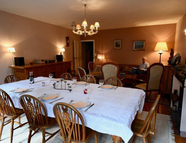 La table d'hôtes de la Tulipe Sauvage