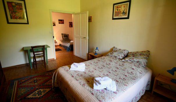 Suite familiale et chambre d'hôtes à Bourdeaux